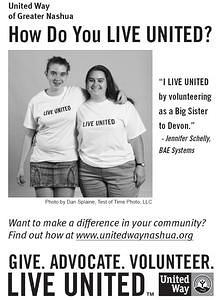 United Way of Greater Nashua Ad