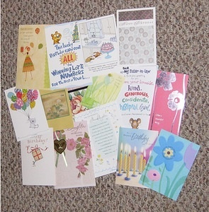 Birthday Card Collage 2010