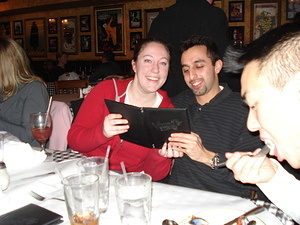 WPI Group at Vinny T's (February 23, 2007)