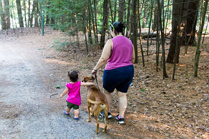2016-07-22 - Hiking and Playground in Twin Bridges Park