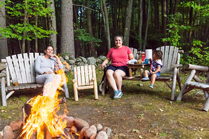 2016-09-17 - Bonfire with Gramma K