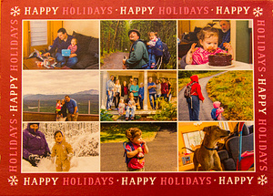 Holidays 2016 Card Front