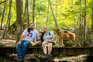2020-09-26 - Family Hike in Grater Woods