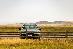 BMW 525iT Road Trip