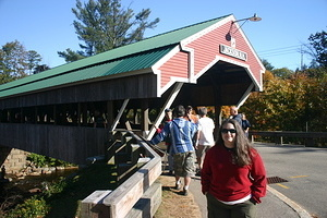 Jen at Jackson Covered Bridge