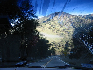Driving Through Yosemite - 8