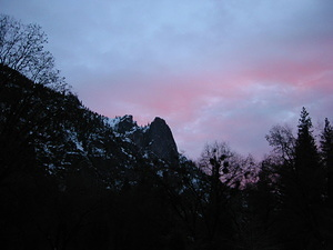 Sunset at Yosemite - 3