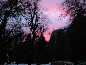 Sunset at Yosemite - 6