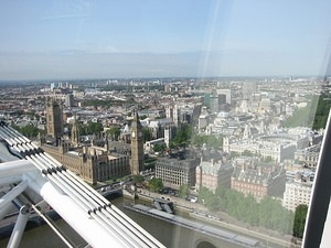 Big Ben from the London Eye 3