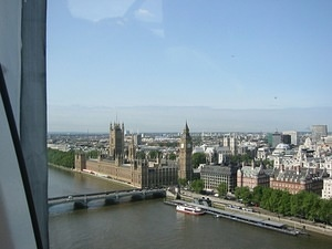 Big Ben from the London Eye 5