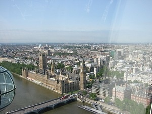London from the London Eye 04
