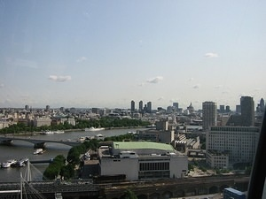 London from the London Eye 10