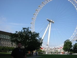 Neil and the London Eye