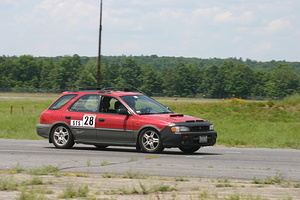 NER Autocross at Devens 2006-07-09